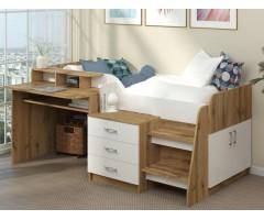 Підліткове ліжко з робочим місцем Спейс