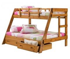 Тримісне двоярусне ліжко Раяна