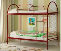 Двухэтажная металлическая кровать Сеона