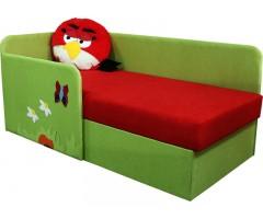 Дитячий кутовий диван Енгрі Бьордс Ред 14M61