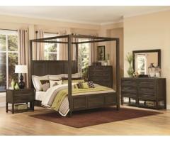 Кровать с балдахинами Стокнейм