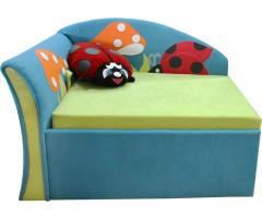 Дитячий розкладний кутовий диван-малятко Мрія Сонечко 02M033