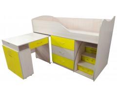 Ліжко-горище Бедрум 5 зі столом