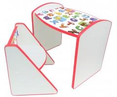 Дитячий комплект стіл та стілець ДО-ДО