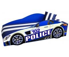 Ліжко-машинка Еліт Е-8 Поліція з матрацом