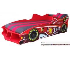 Ліжко-машинка Формула1 Ф1 з матрацом