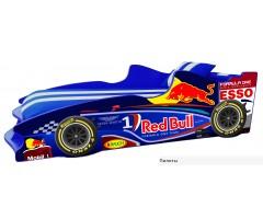 Кровать-машинка Формула1 Ф2 с матрасом