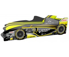 Ліжко-машинка Формула1 Ф3 з матрацом