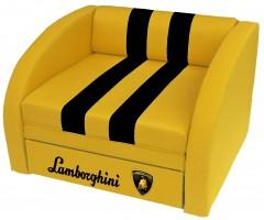 Крісло-ліжко СМАРТ Ламборгіні жовте