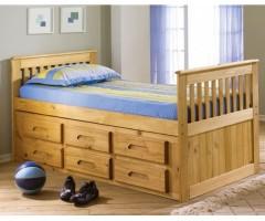 Детская кровать из массива дерева Виста