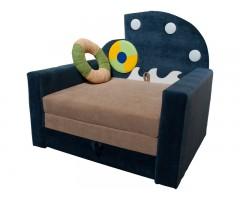 Выкатной тёмно-синий диван Фантазия Юнга для мальчика 01M063