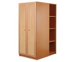 Шкаф 700 со стеллажами низкий Злата La7