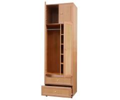 Платяной шкаф с полками и ящиками Злата C1
